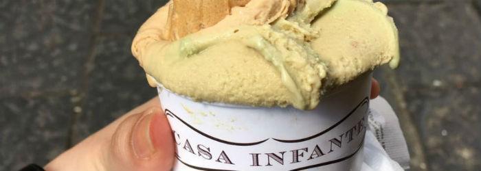 Csa Infante gelateria a Napoli