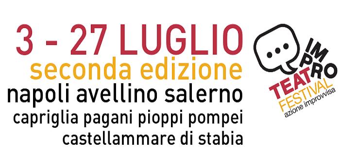 Locandina del Festival Imrpoteatro 2014 a Napoli