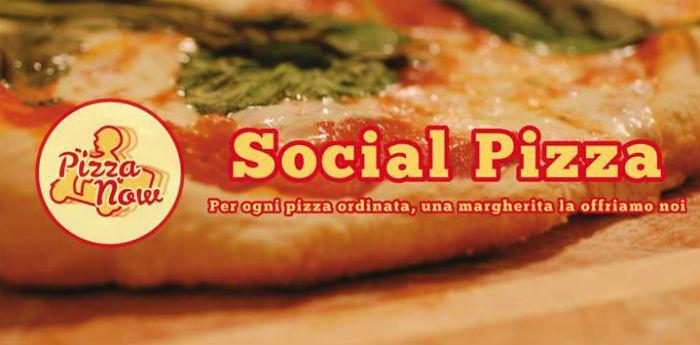 La locandina dell'evento Social Pizza allo Sly Cafè di Fuorigrotta