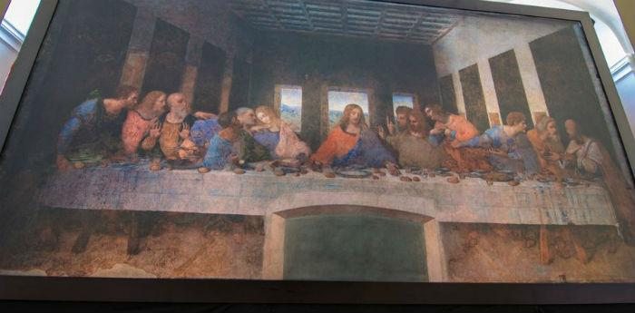 L'Ultima Cena di Leonardo Da Vinci, versione interattiva