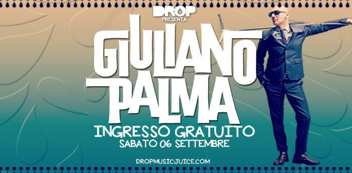 Locandina del concerto di Giuliano Palma all'Arenile Reload di Napoli