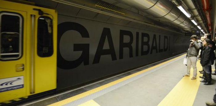 La stazione Garibaldi della Metropolitana di Napoli linea 1