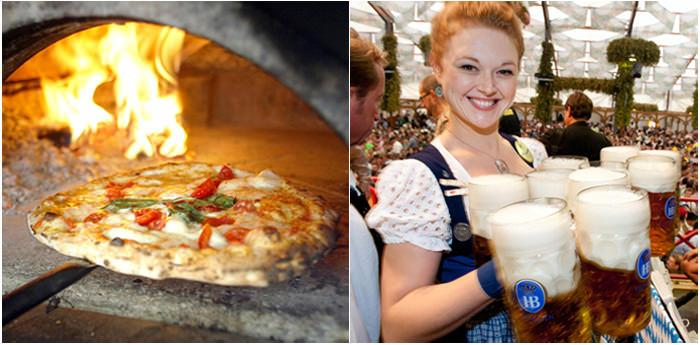 gemellaggio napoli pizza village e oktoberfest