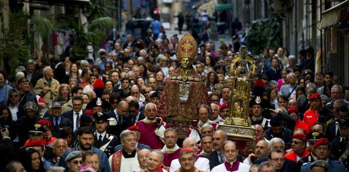 Programma eventi per la Festa di San Gennaro a Napoli 2014