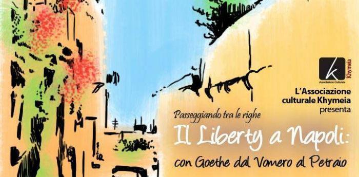 Locandina della visita guidata Liberty a Napoli
