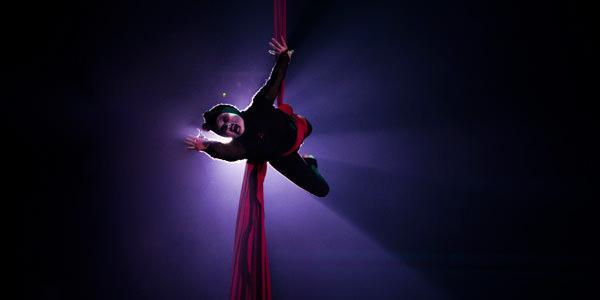 Acrobata al Circo de los Horrores