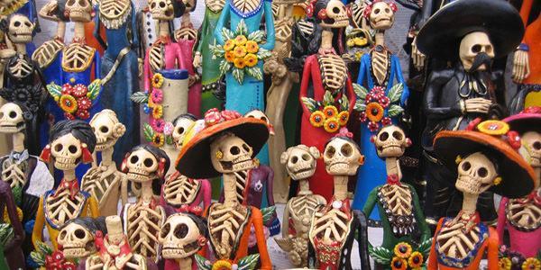 Dia de los muertos al mercatino hipster di napoli