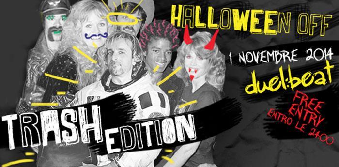 Locandina di Halloween Off 2014 al Duel Beat