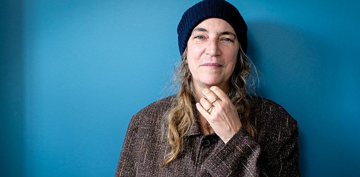 La cantante Patti Smith