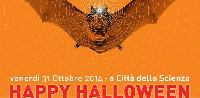 Locandina dell'evento Happy Halloween a Città della Scienza