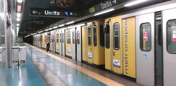 la metro linea 1 di napoli
