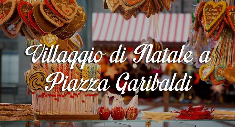 Arriva il Villaggio di Natale a Piazza Garibaldi con pista di pattinaggio su ghiaccio e tanti stand