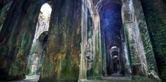 La cisterna Piscina Mirabilis a Miseno