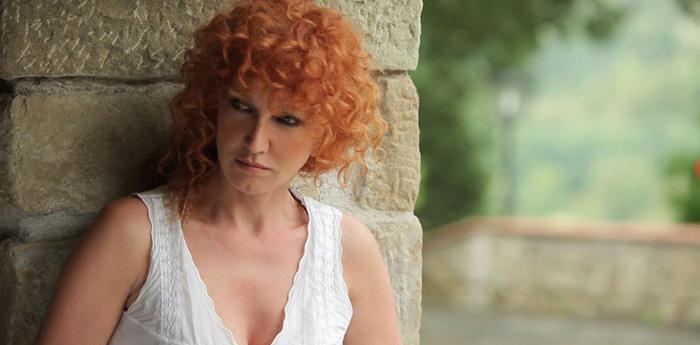 La cantante Fiorella Mannoia