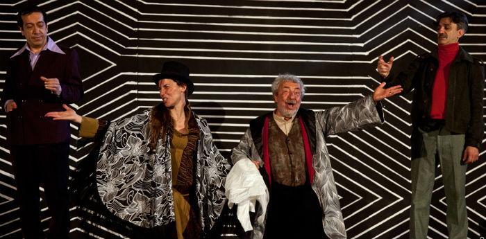 Benedetto Casillo in Sik Sik l'artefice magico di Eduardo De Filippo