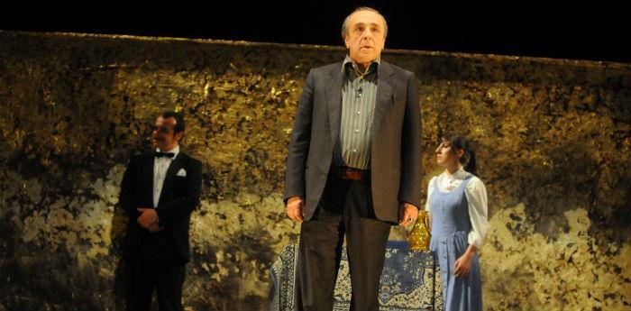 Silvio Orlando ne Il Mercante di Venezia a Napoli