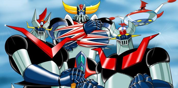 i robot giapponesi mazinga, goldrake, ufo robot