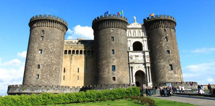Il Maschio Angioino a Napoli