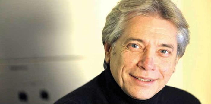 Il cantante napoletano Nino D'Angelo