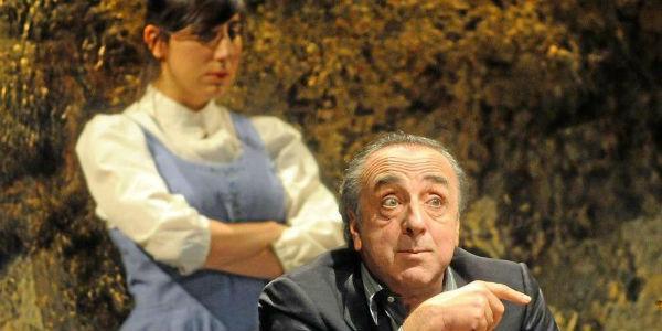 Silvio Orlando nello spettacolo Il Mercante di Venezia al Teatro Bellini di Napoli