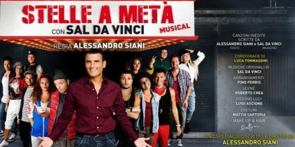 Sal Da Vinci al Teatro Augusteo con Stelle a metà
