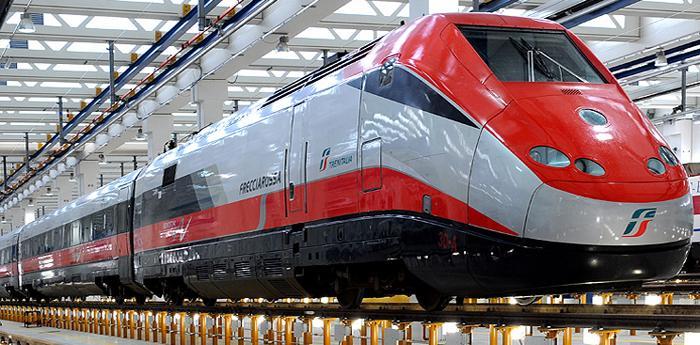 Un treno Trenitalia
