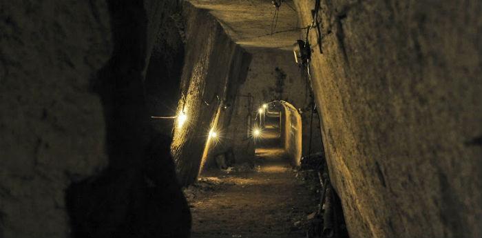 Il Tunnel Borbonico di Napoli
