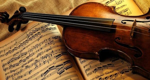 Violino e spartito