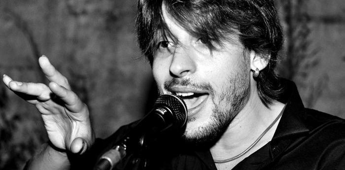 Il cantautore napoletano Giovanni Block