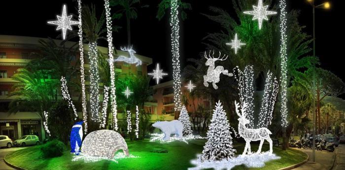 Decorazioni di Natale a Sorrento
