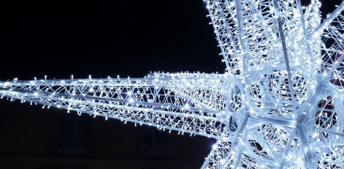 Le luminarie natalizie al Vomero per Natale a Napoli 2014