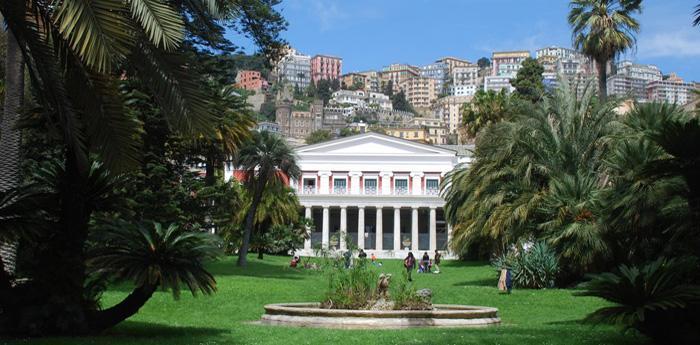 La Villa Pignatelli a Napoli