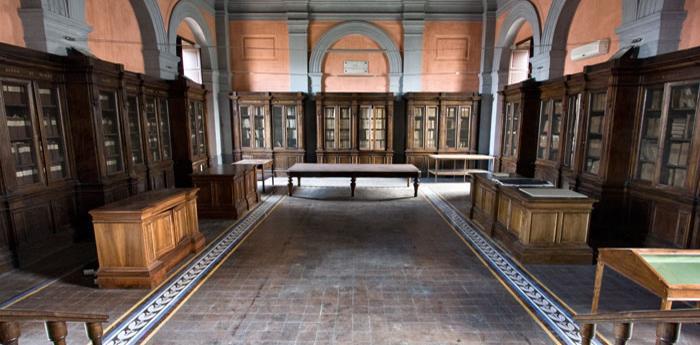 Sala dell'Archivio di Stato di Napoli