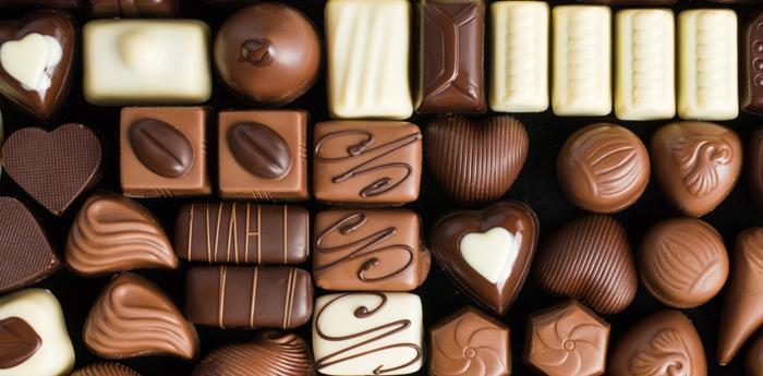 Cioccolatini variegati