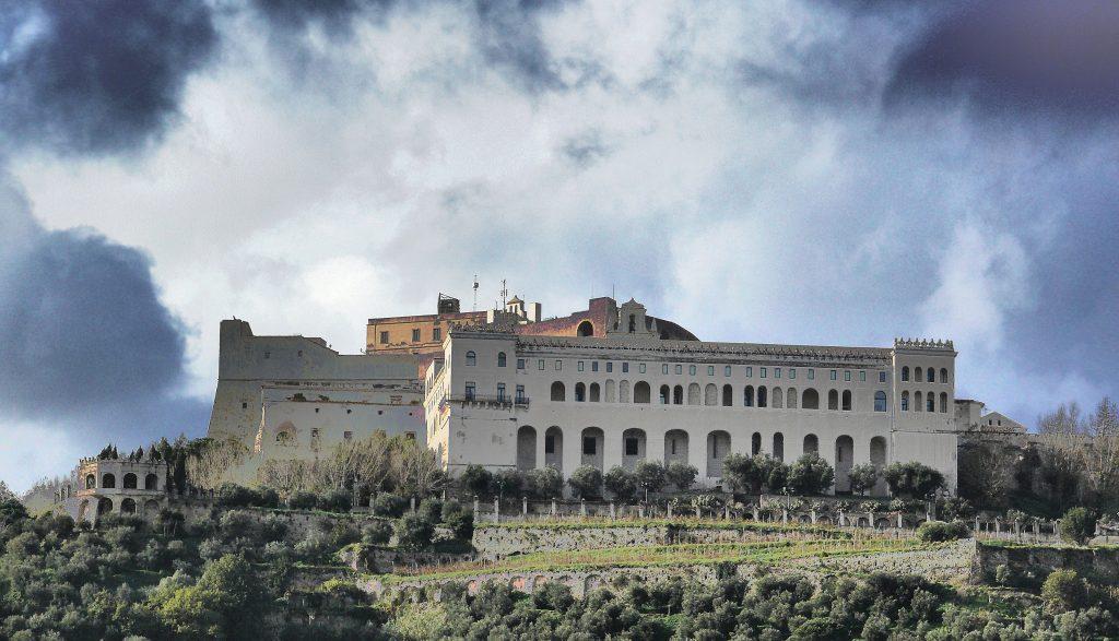 La Certosa di San Martino sulla collina del Vomero