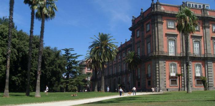 Parco e Bosco di Capodimonte a Napoli