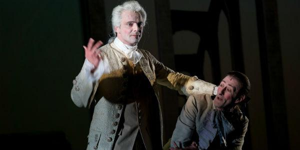 Alessandro Preziosi e Nando Paone nel Don Giovanni