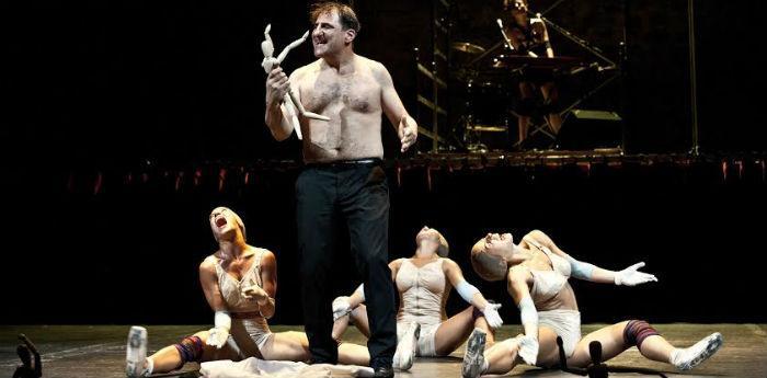Lo spettacolo Io, nessuno e Polifemo al Teatro Bellini di Napoli