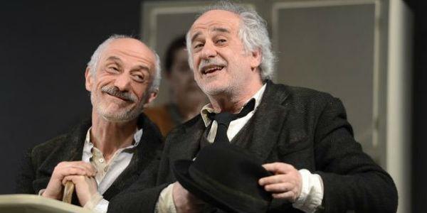 I fratelli Servillo al Teatro Bellini con Le voci di dentro