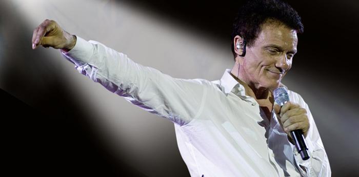 Il cantante Massimo Ranieri