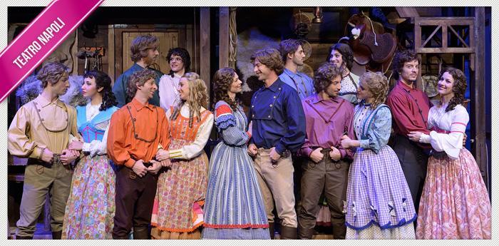 Sette spose per sette fratelli al Teatro Augusteo di Napoli