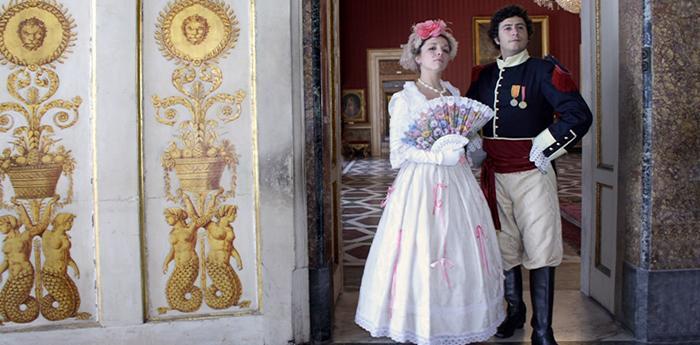 Il Re Ferdinando e la Regina Carolina al Ballo di Corte di Capodimonte