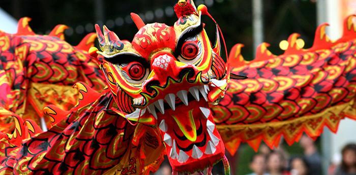 Drago del Capodanno cinese