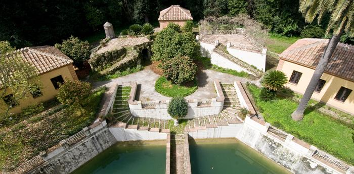 I Giardini della Castelluccia della Reggia di Caserta