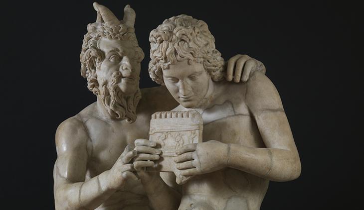 Statua di Pan al Museo Nazionale di Napoli