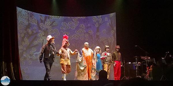 Peppe Barra al Teatro Delle Palme di Napoli