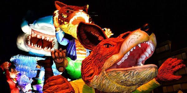 Cortei e carri allegorici del Carnevale di Striano
