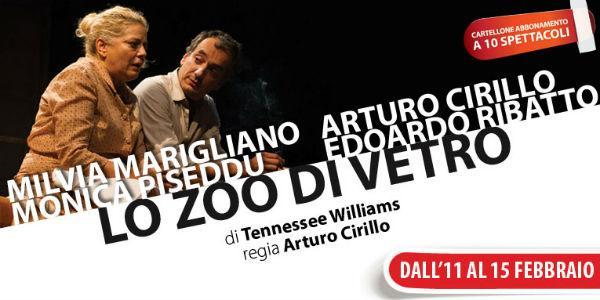 Lo zoo di vetro in scena al Teatro Nuovo di Napoli