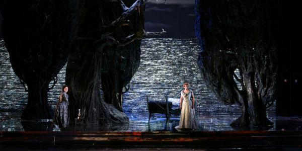 Tristano e Isotta onn scena al Teatro San Carlo di Napoli