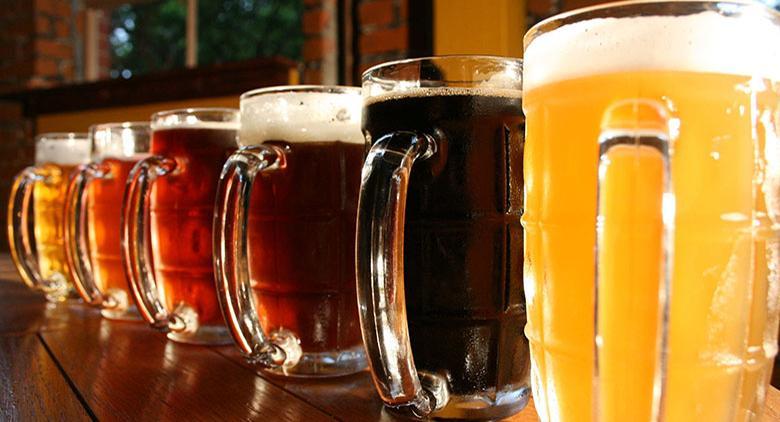 Boccali di birra artigianale